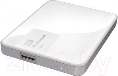 Внешний жесткий диск Western Digital My Passport Ultra 1TB White (WDBGPU0010BWT-EESN)