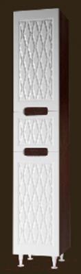 Шкаф-пенал для ванной Ванланд Венеция 1 (правый, венге)