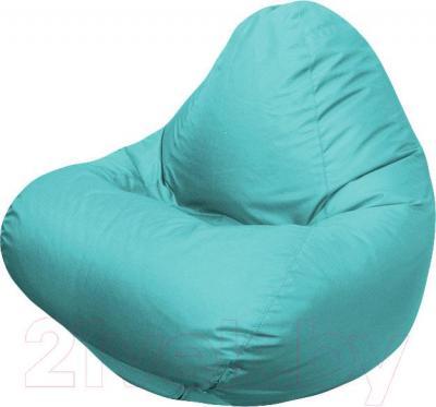 Бескаркасное кресло Flagman Relax Г4.2-13 (морская волна)