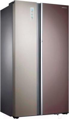 Холодильник с морозильником Samsung RH60H90203L/WT