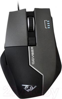 Мышь Qcyber Zorg QC-02-004DV01 (серый)