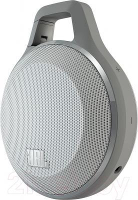 Портативная колонка JBL Clip (серый)