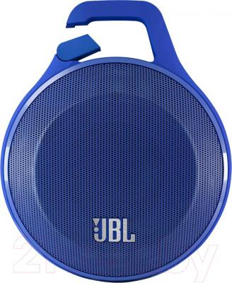 Портативная колонка JBL Clip (синий)