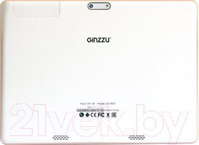 Планшет Ginzzu GT-X870 (белый)