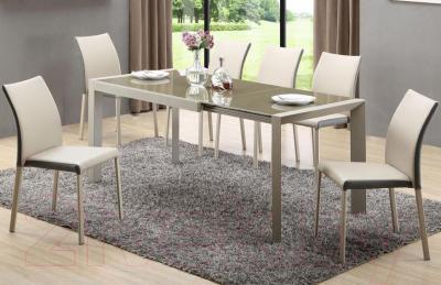 Обеденный стол Halmar Arabis (светло-коричневый/бежевый)