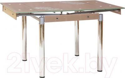 Обеденный стол Halmar Elton (бежевый)