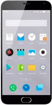 Смартфон Meizu M2 Note (16Gb, белый)