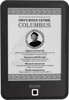 Электронная книга Onyx BOOX C67SML Columbus (черный)