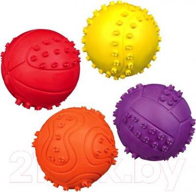 Игрушка для животных Trixie Мяч 34841 (со звуком) - возможные цвета