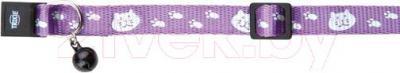 Ошейник Trixie 4173 (светоотражающий, с колокольчиком)