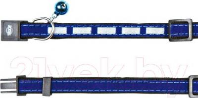 Ошейник Trixie 4172 (светоотражающий, с колокольчиком)