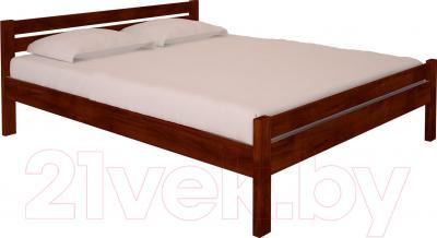 Полуторная кровать НЗК Vesta 140х200 (ольха 109/5)