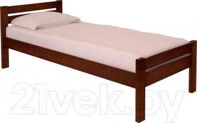 Полуторная кровать НЗК Vesta 120х200 (ольха 119/5)