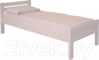 Односпальная кровать НЗК Vesta 90х200 (ольха 003)