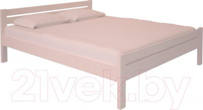 Двуспальная кровать НЗК Vesta 160х200 (ясень 003)