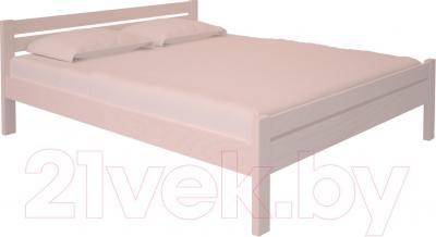 Полуторная кровать НЗК Vesta 140x200 (ясень 003)