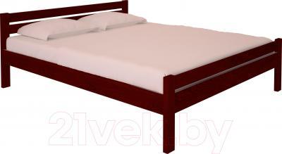 Полуторная кровать НЗК Vesta 140х200 (ясень 109/5)