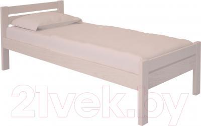 Односпальная кровать НЗК Vesta 80х200 (ясень 003)