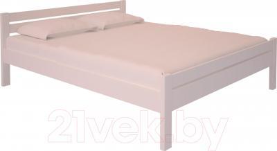Двуспальная кровать НЗК Vesta 160х200 (ольха 003)