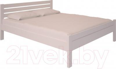 Двуспальная кровать НЗК Vesta Lux 160х200 (ольха 003)