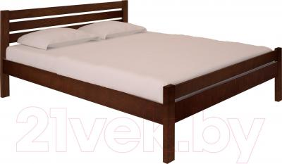 Полуторная кровать НЗК Vesta Lux 140х200 (ольха 119/5)