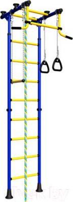Детский спортивный комплекс Romana Комета 2 ДСКМ-2-8.06.Г.410.01-11 (синий/желтый)