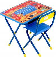 Стол+стул Дэми №1 Король Лев (синий) -