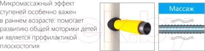 Детский спортивный комплекс Romana Комета Next 1 ДСКМ-2С-8.06.Г1.410.01-07 (красный/желтый)