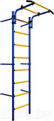 Детский спортивный комплекс Romana Комета Next Light ДСКМ-2С-8.06.Г1.410.11-01 (синий/желтый)