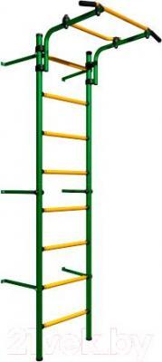 Детский спортивный комплекс Romana Комета Next Light ДСКМ-2С-8.06.Г1.410.11-01 (зеленый/желтый)