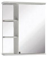 Шкаф с зеркалом для ванной Кветка Магнолия 600 (правый) -
