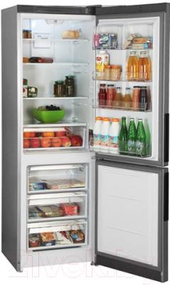 Холодильник с морозильником Hotpoint HF 5180 S