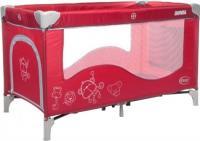 Кровать-манеж 4Baby Royal (красный) -