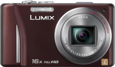 Компактный фотоаппарат Panasonic Lumix DMC-TZ20EE-T - вид спереди