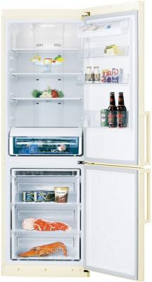 Холодильник с морозильником Samsung RL50RRCVB1 - с открытой дверцей