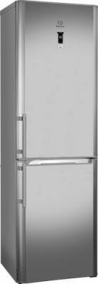 Холодильник с морозильником Indesit BIA 20 NF X D H - общий вид