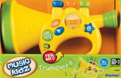 Музыкальная игрушка Keenway Труба 31936 - общий вид в коробке
