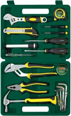 Универсальный набор инструментов RBT HY-T21-3 (21 предмет) - общий вид