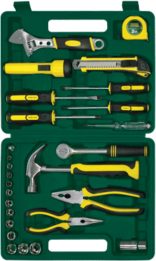Универсальный набор инструментов RBT HY-T27-1 (27 предметов) - общий вид