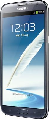 Смартфон Samsung N7100 Galaxy Note II (16Gb) Gray (GT-N7100 TADSER) - вид сбоку