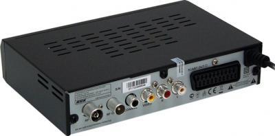 Тюнер цифрового телевидения BBK STB105A - вид сзади