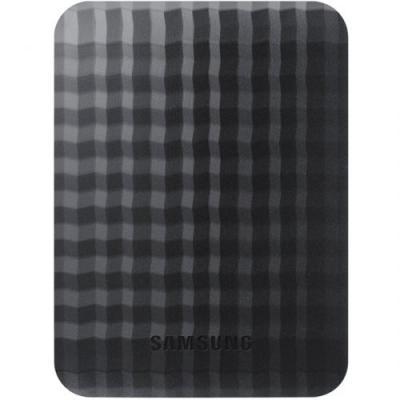 Внешний жесткий диск Samsung M3 Portable 1TB USB 3.0 (STSHX-M101TCB) - фронтальный вид