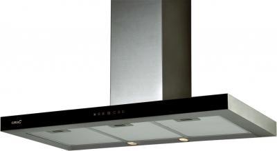Вытяжка Т-образная Cata Midas (60, черное стекло) - общий вид