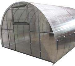 Теплица под поликарбонат БелОМО 0075-10 - общий вид