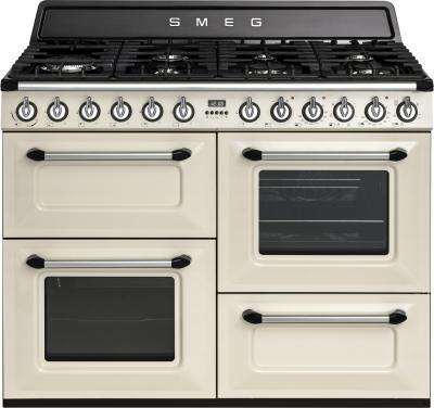 Кухонная плита Smeg TR4110P - вид спереди