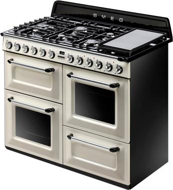 Кухонная плита Smeg TR4110P - общий вид