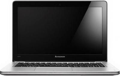 Ноутбук Lenovo IdeaPad U410 (59338275) - фронтальный вид