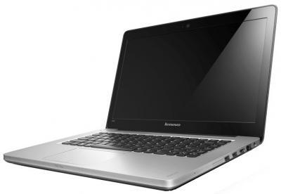 Ноутбук Lenovo IdeaPad U410 (59338275) - общий вид