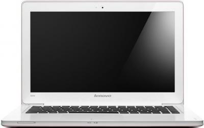 Ноутбук Lenovo IdeaPad U310 (59338269) - фронтальный вид