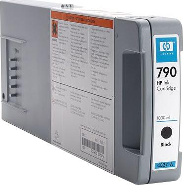 Картридж HP 790 (CB271A) - общий вид